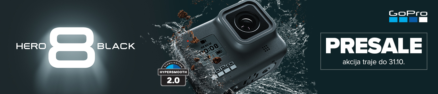 PRESALE, GoPro HERO8 Black