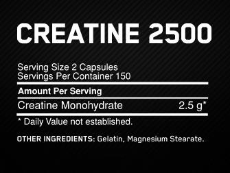 Creatine 2500, ON