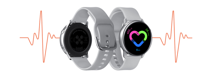 Samsung Galaxy Watch Active, Heart beat