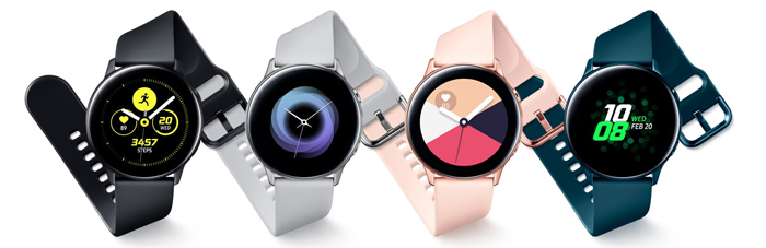 Samsung Galaxy Watch Active, Colors