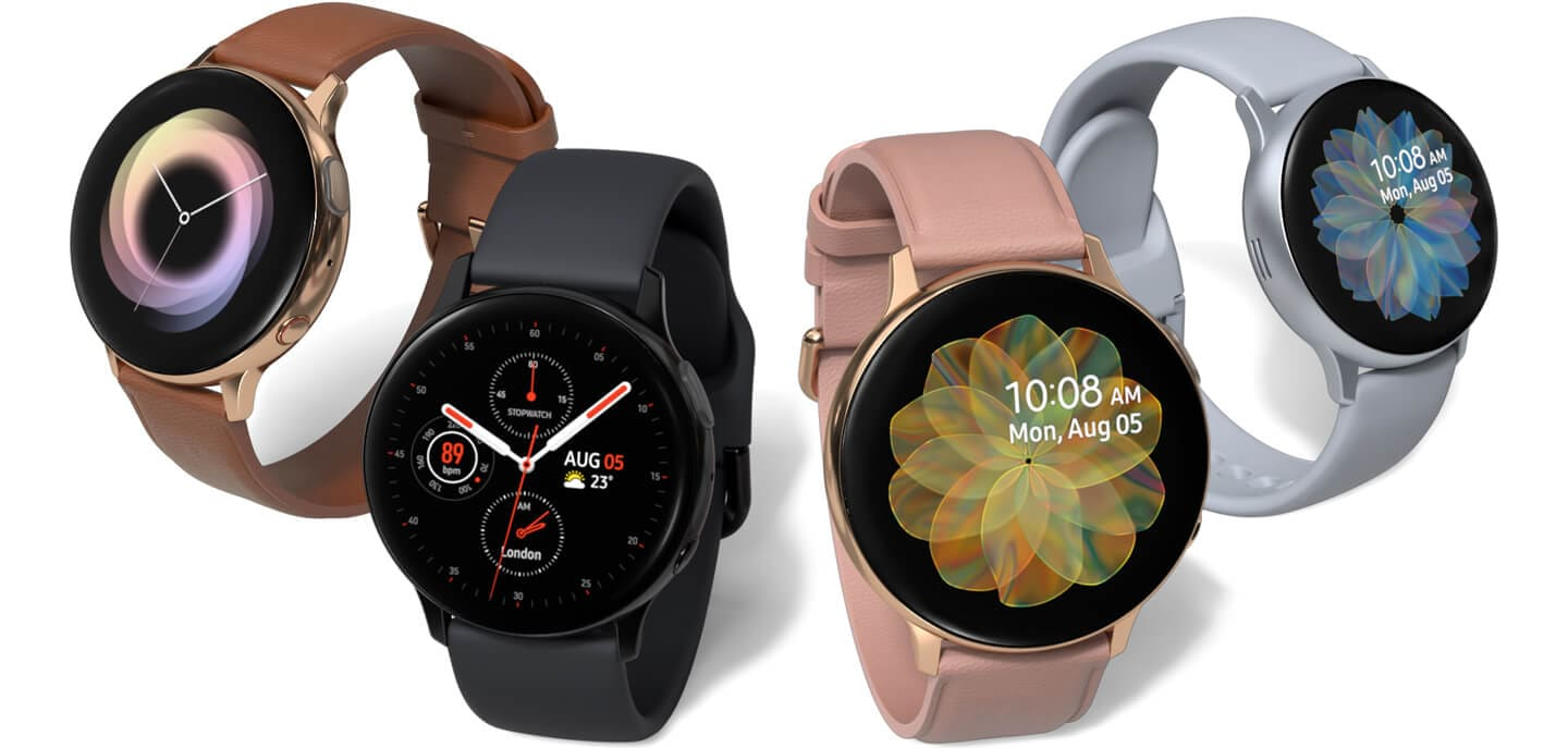 Samsung Galaxy Watch Active 2, Colors