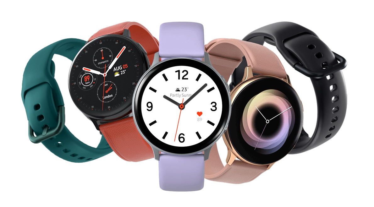 Samsung Galaxy Watch Active 2, design