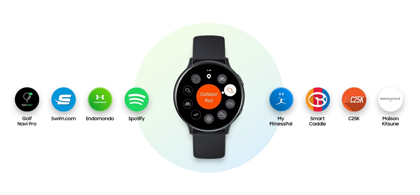Samsung Galaxy Watch Active 2, apps