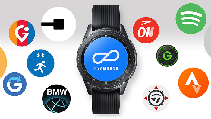 Samsung Galaxy Watch, Apps in abundance