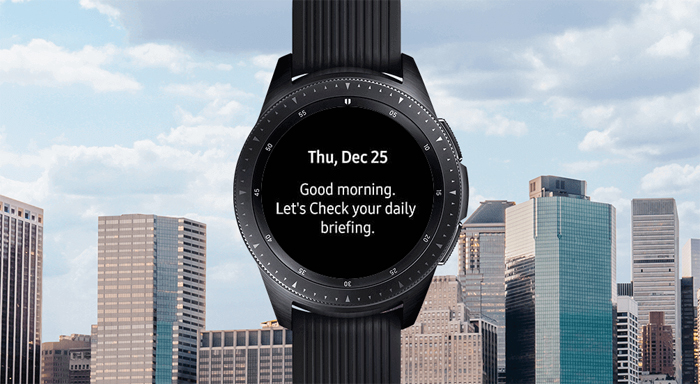 Samsung Galaxy Watch, Day activities