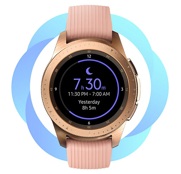 Samsung Galaxy Watch, Rest and relax for a better you