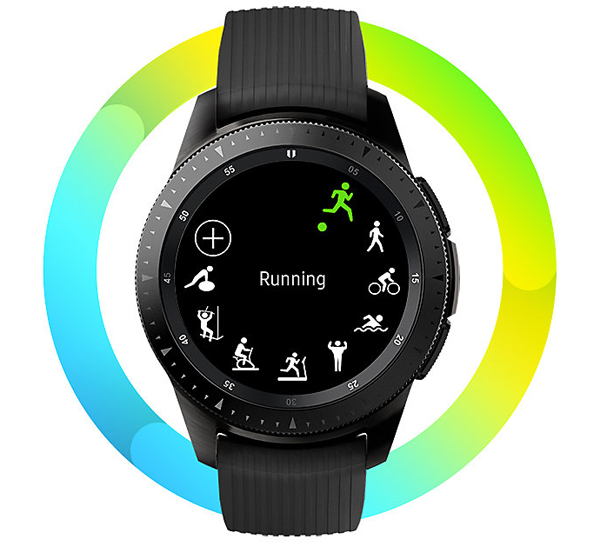 Samsung Galaxy Watch, Track your progress