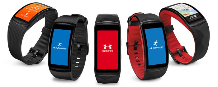 Samsung Gear Fit2 Pro, Sports apps