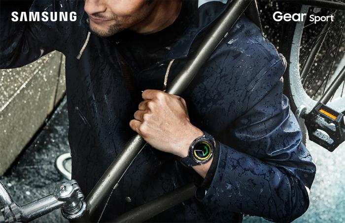 Samsung Gear Sport, Waterproof