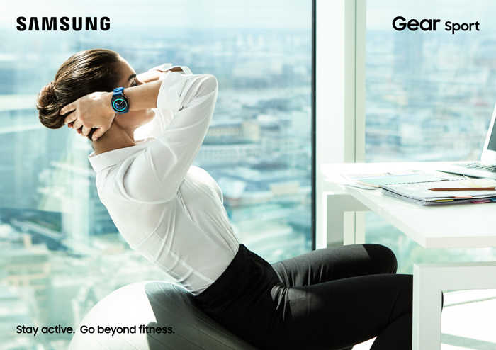 Samsung Gear Sport, Workout anywhere