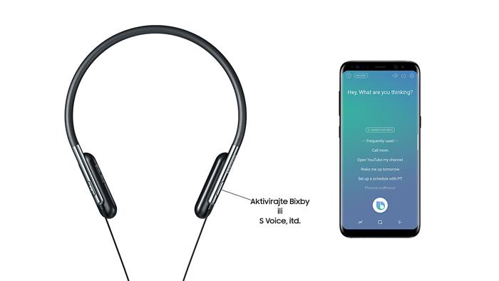 Slušalice Samsung U Flex, Bixby