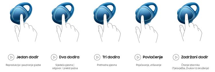 Slušalice Samsung Gear IconX - Ad 2