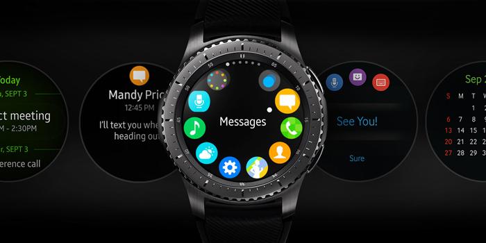 Samsung Gear S3 Frontier bezel