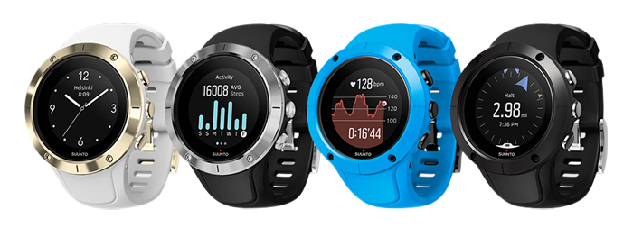 Suunto Spartan Trainer Wrist HR, colors